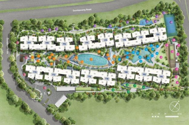 The Visionaire_Siteplan